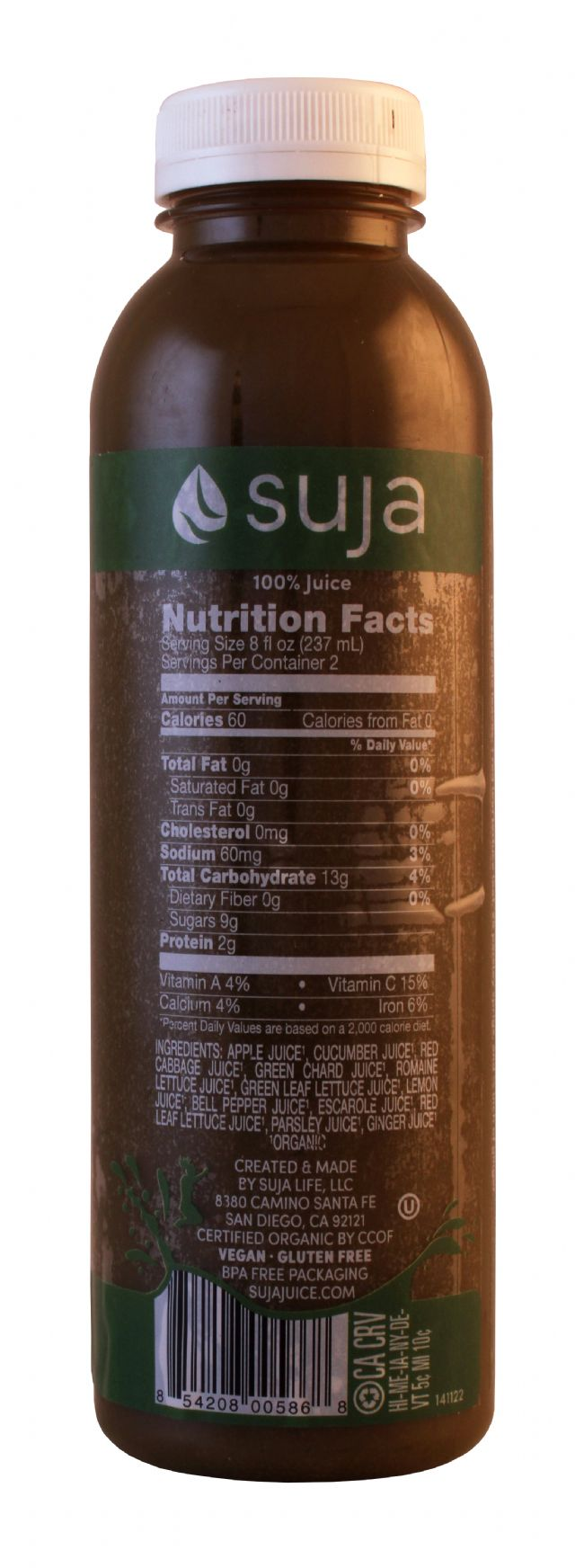 Suja Classic: Suja Fortitude Facts