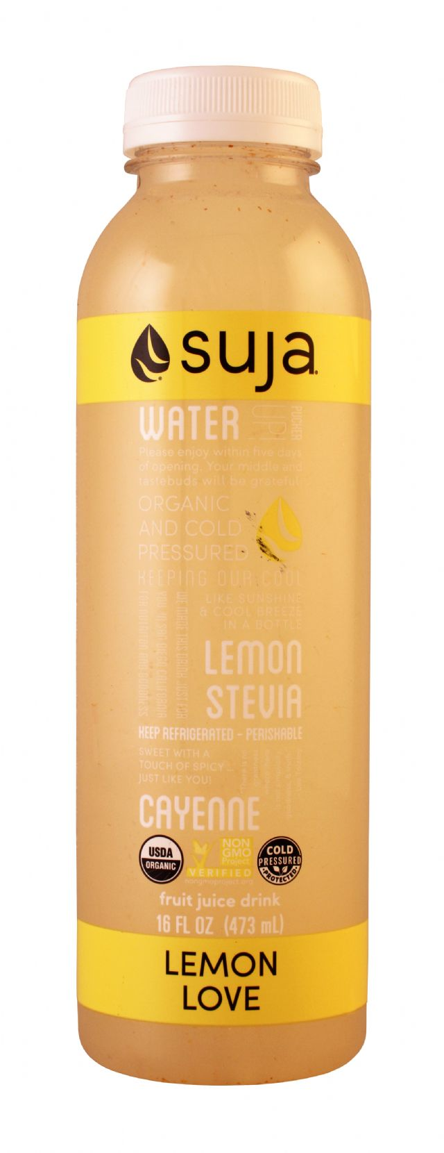 Suja Classic: Suja LemonLove Front