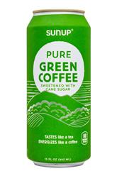 Pure Green Coffee - Sweetened with Cane Sugar