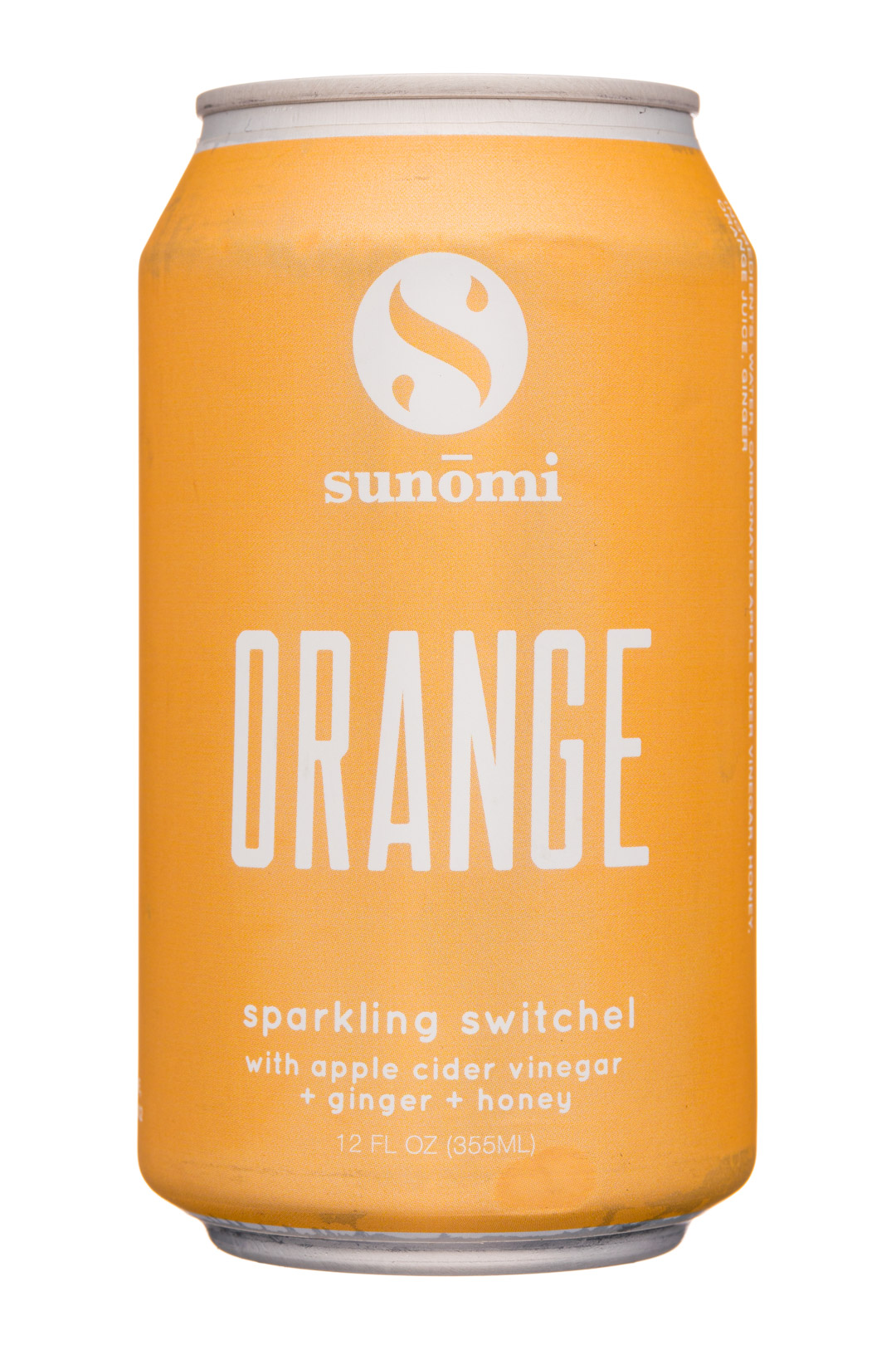 Sunomi: SipCity-12oz-Sunomi-SparklingSwitchel-Orange-Front