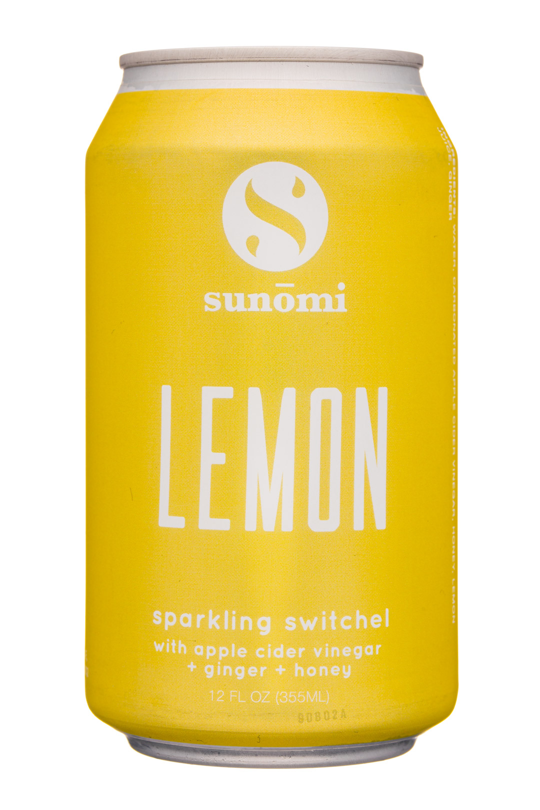 Sunomi: SipCity-12oz-Sunomi-SparklingSwitchel-Lemon-Front