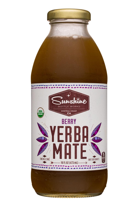 Sunshine Bottle Works: SunshineBottleWorks-16oz-YerbaMate-Berry-Front