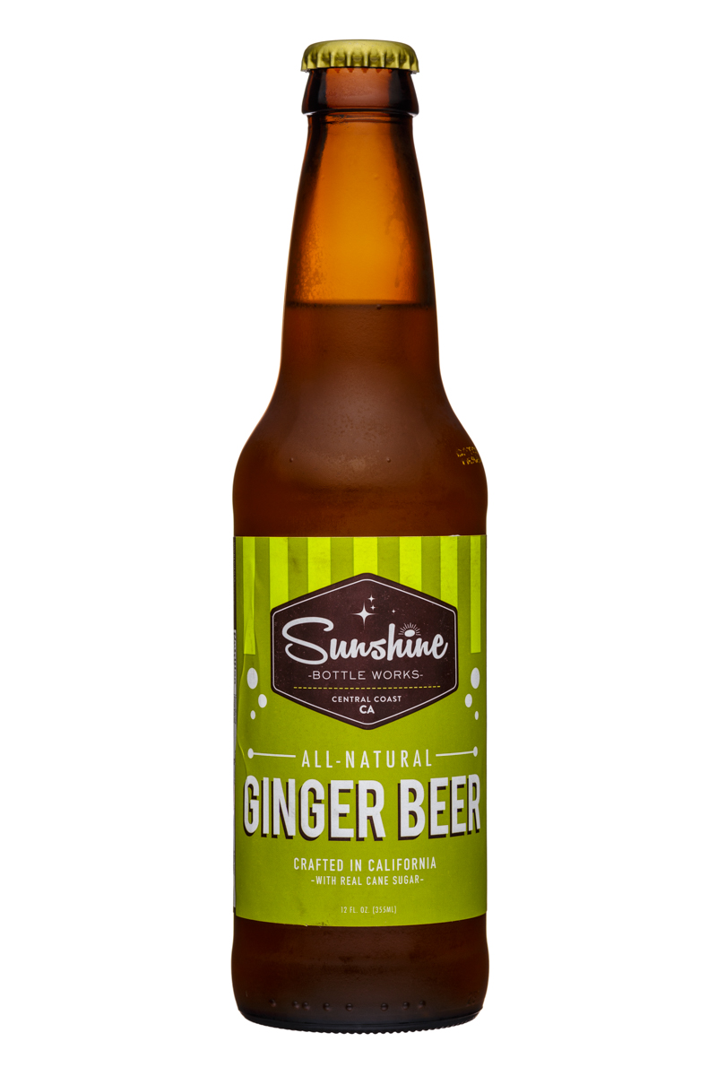 Sunshine Bottle Works: Sunshine-12oz-GingerBeer-Front