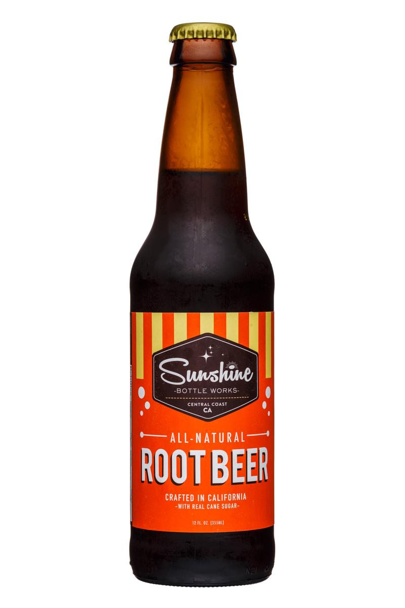 Sunshine Bottle Works: Sunshine-12oz-RootBeer-Front