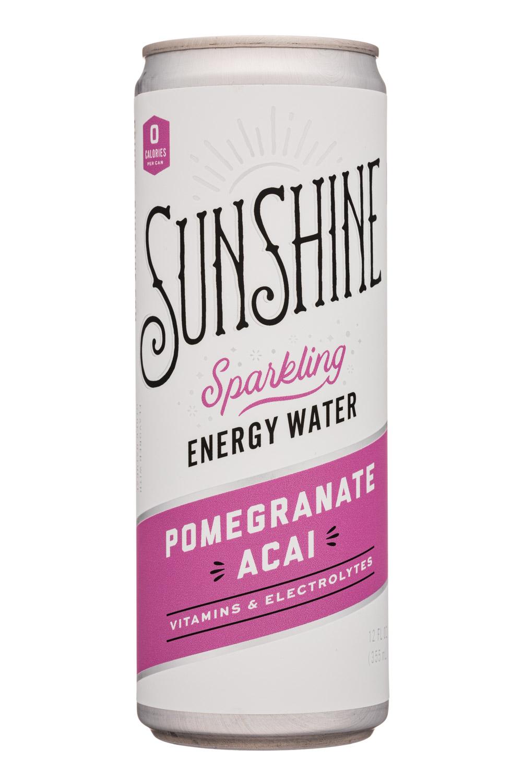 Sunshine Energy: Sunshine-12oz-SparklingEnergy-PomAcai-Front