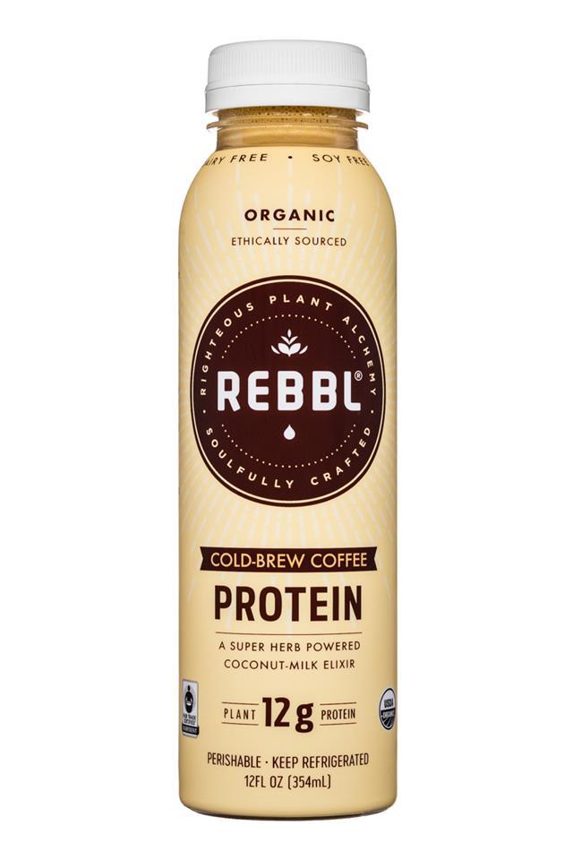 REBBL : REBBL-12oz-ColdBrew-Protein-Front