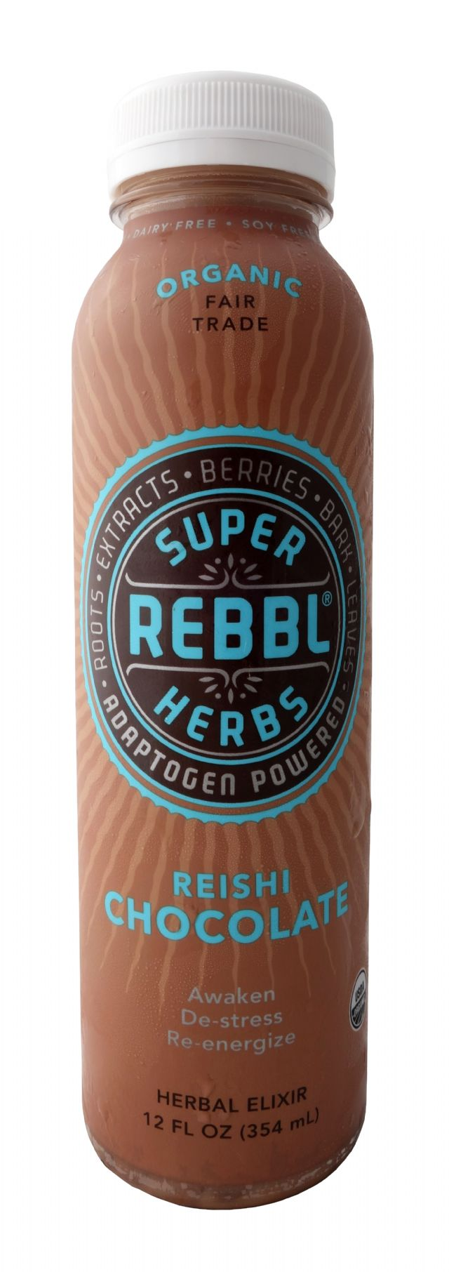 REBBL Super Herbs: SuperRebel Chocolate Front