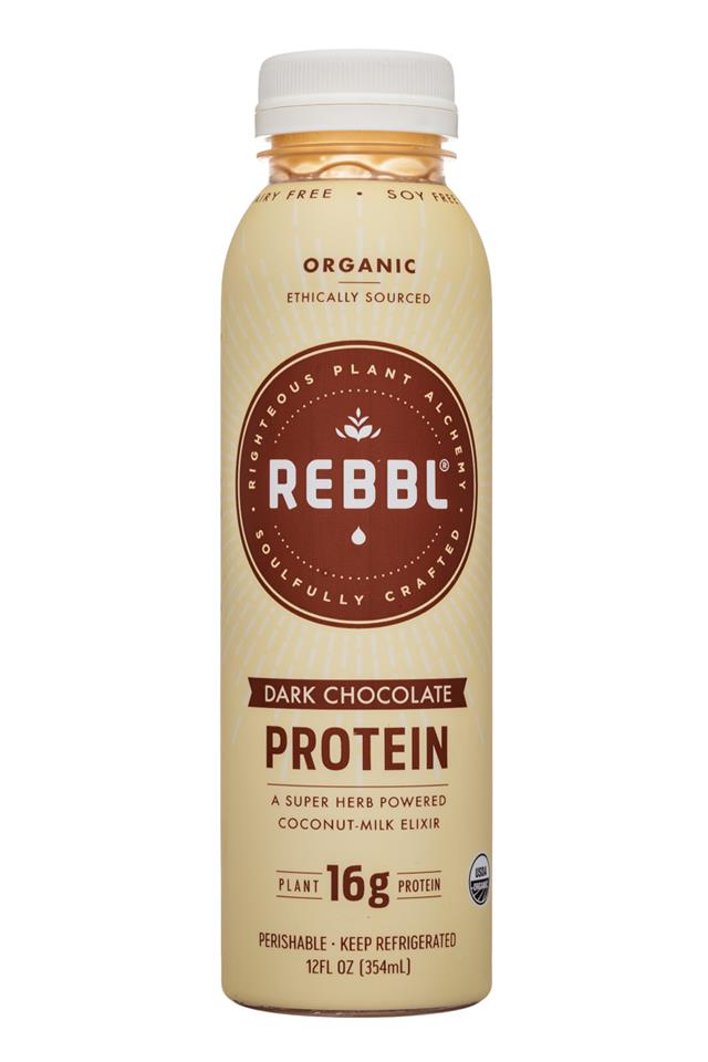 REBBL : Rebbl-12oz-Protein-DarkChoc-Front
