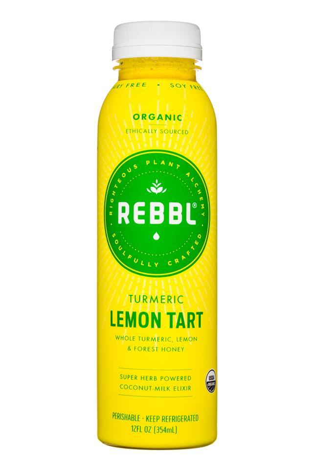 REBBL : REBBL-12oz-LemonTart-Turmeric-Front