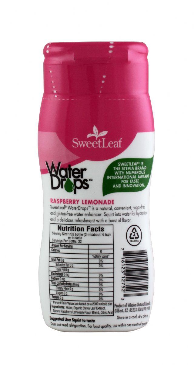 SweetLeaf Water Drops: SweetLeaf RaspLem Facts