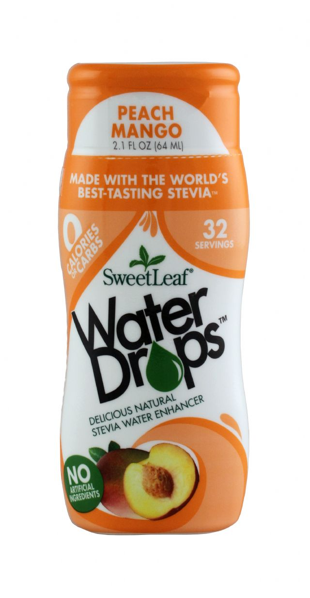 SweetLeaf Water Drops: SweetLeaf PeachMang Front