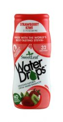 SweetLeaf Water Drops: SweetLeaf StrawKiwi Front