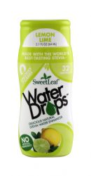 SweetLeaf Water Drops: SweetLeaf LemLime Front