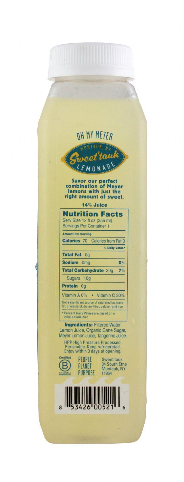 Sweet'tauk Lemonade: SweetTaulk OhMyMeyer Facts