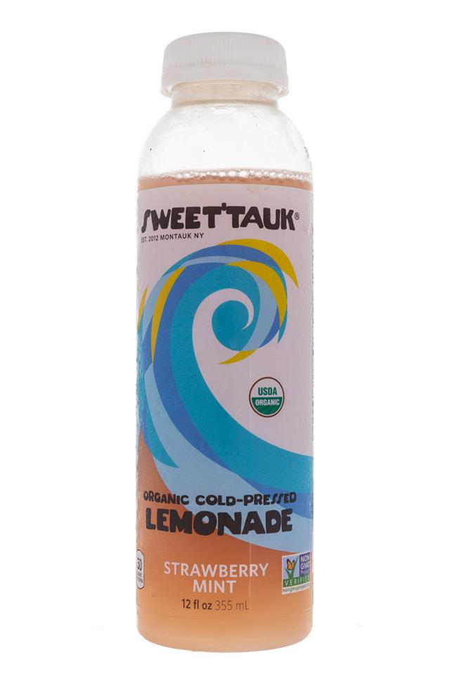 Sweet'tauk Lemonade: SweetTauk-Lemonade-StrawberryMint-Front