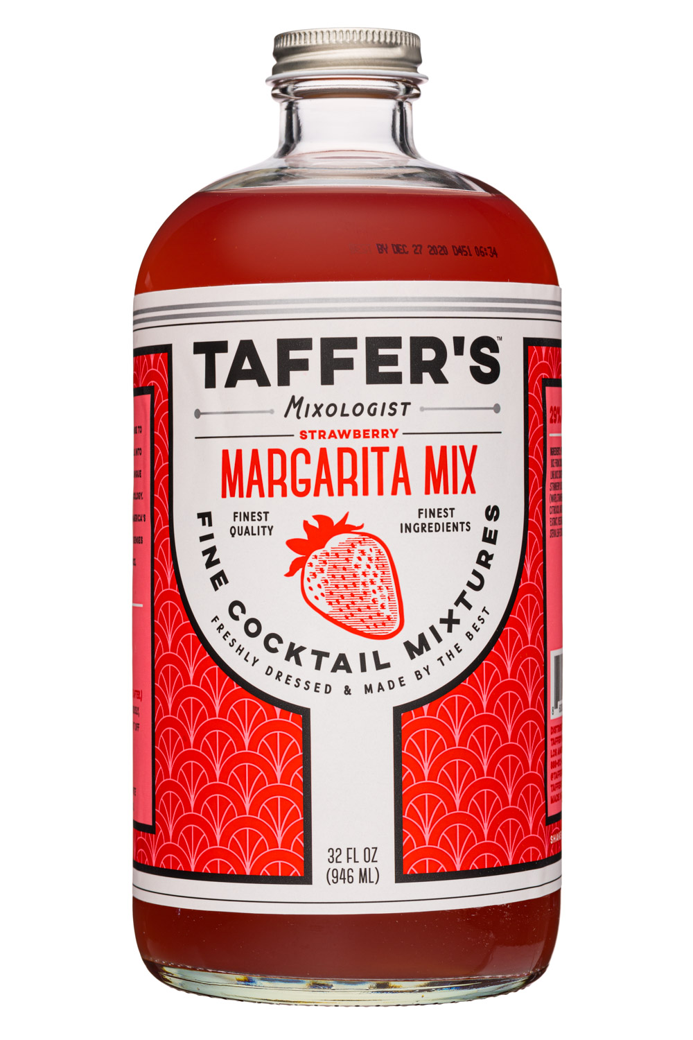 Strawberry Margarita Mix Taffer S Mix Bevnet Com Product Review Ordering Bevnet Com
