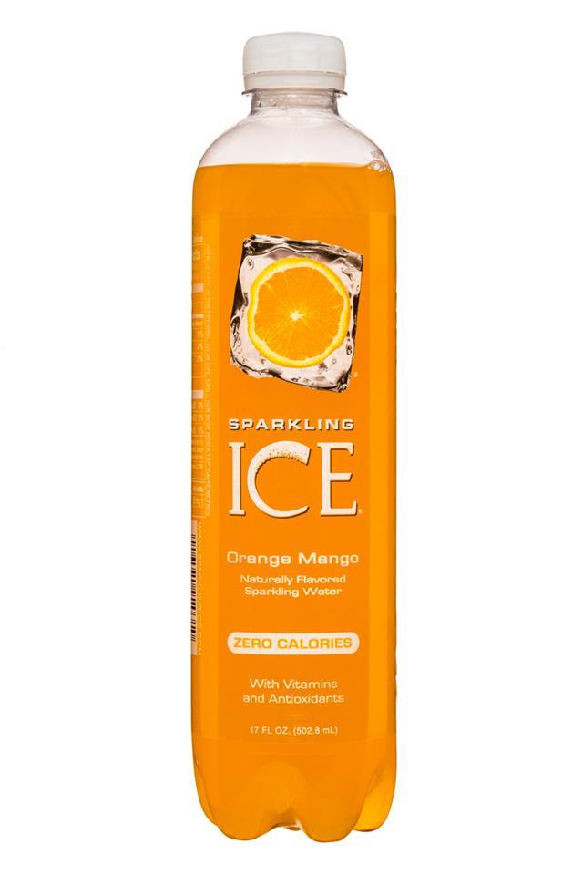 Sparkling Ice -Talking Rain: SparklingIce-17oz-OrangeMango-Front