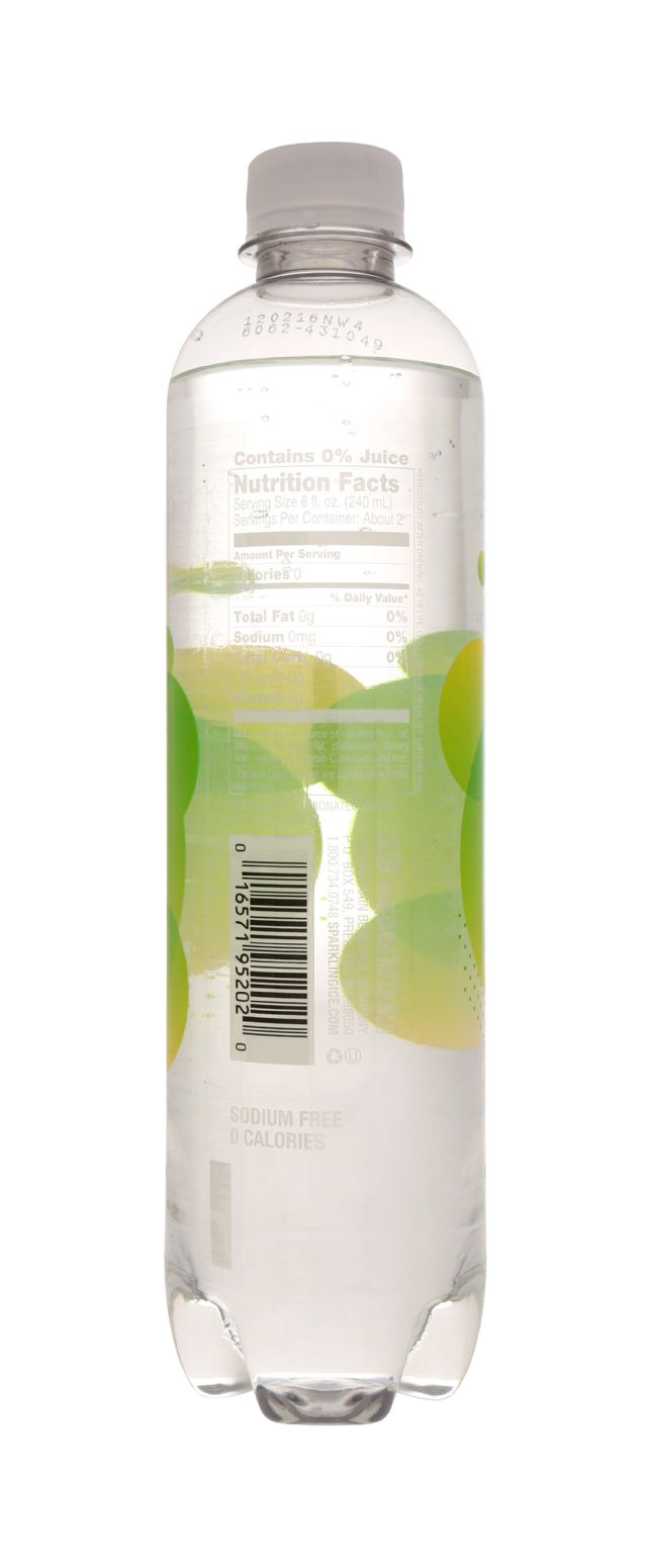 Sparkling ICE Essence of Water: SparkICE LemLime Facts