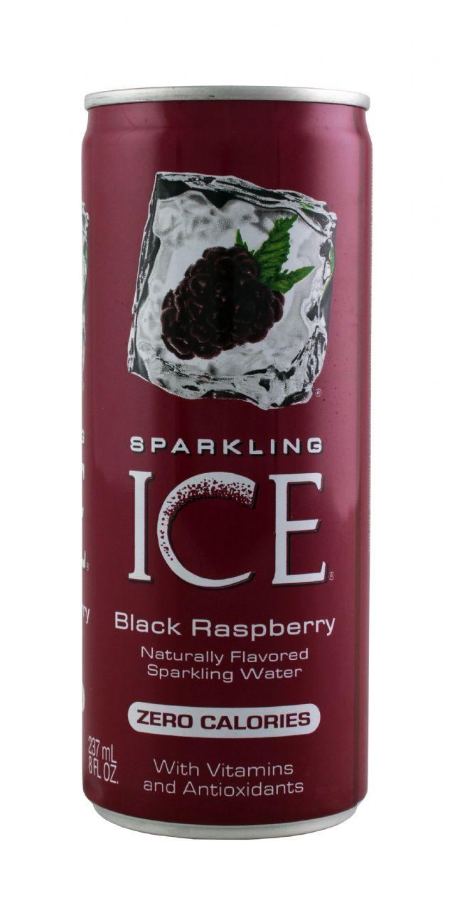 Sparkling Ice -Talking Rain: SparklingICE BlackRasp Front