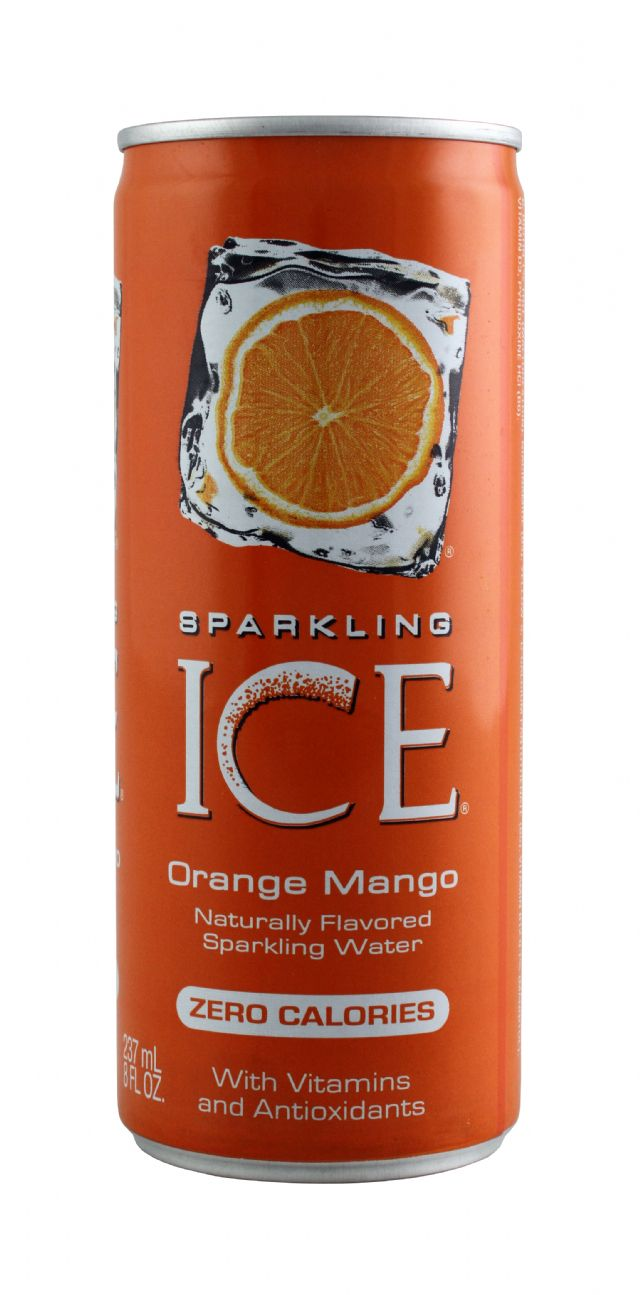Sparkling Ice -Talking Rain: SparklingICE OrangMang Front