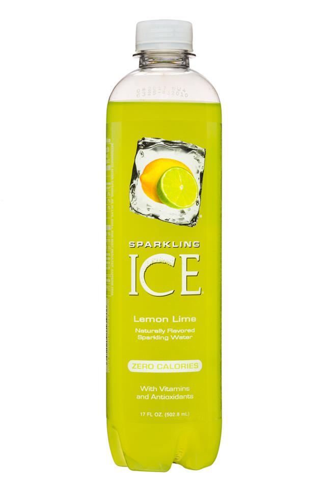 Sparkling Ice -Talking Rain: SparklingIce-17oz-LemonLime-Front