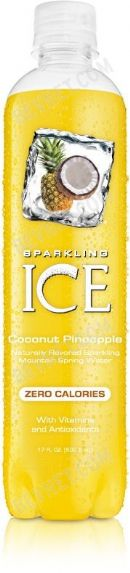 Sparkling Ice -Talking Rain: Coconut Pineapple