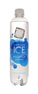 Sparkling ICE Essence of Water: SparkICE SparkWater Front