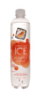 Sparkling ICE Essence of Water: SparkICE Peach Front