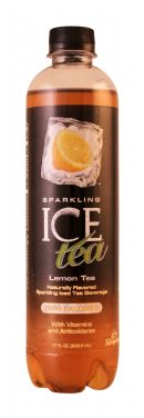 Sparkling Ice -Talking Rain: SparklingICE Tea Lemon Front