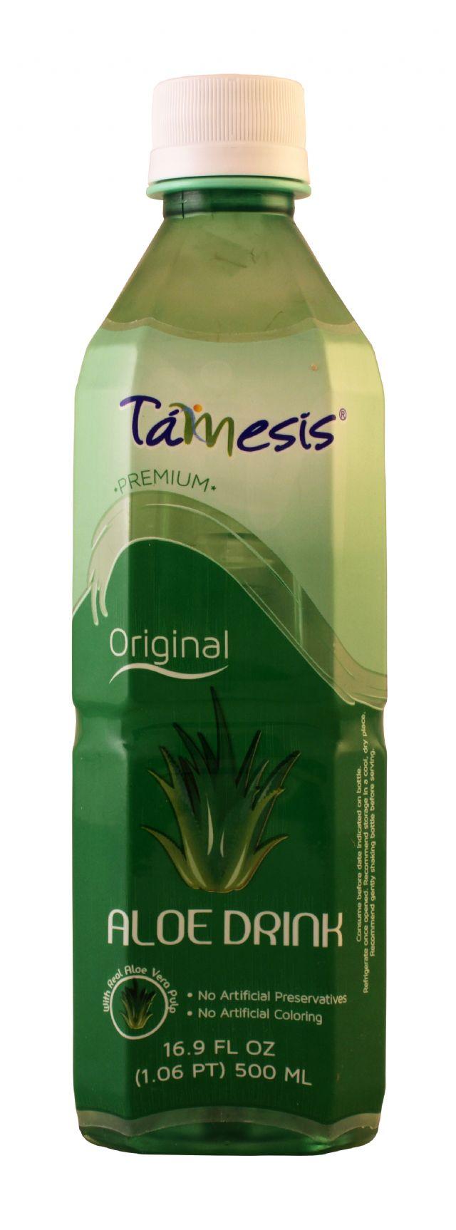 Tamesis Aloe Drink: Tamesis Original Front