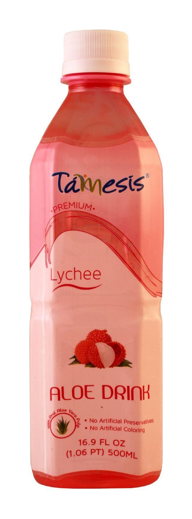Tamesis Aloe Drink: Tamesis Lychee Front