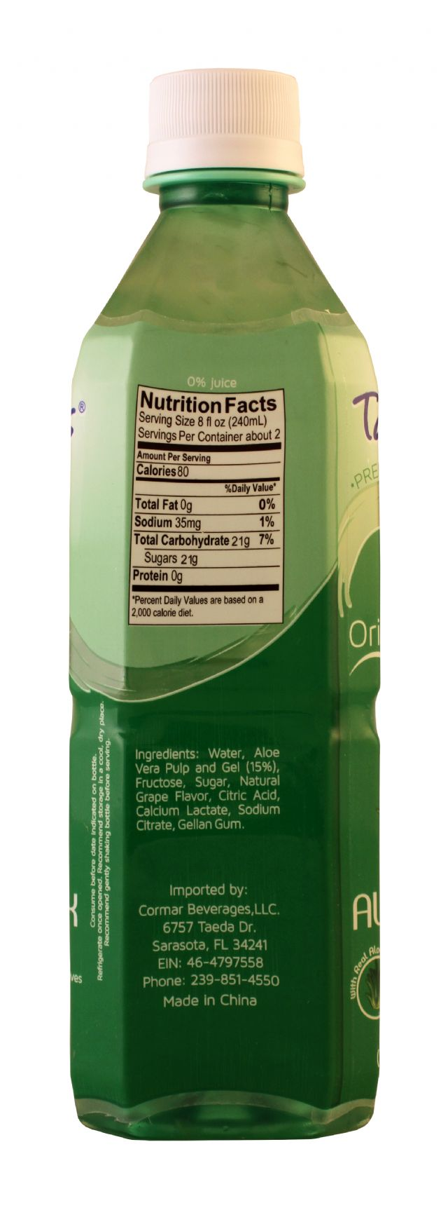 Tamesis Aloe Drink: Tamesis Original Facts