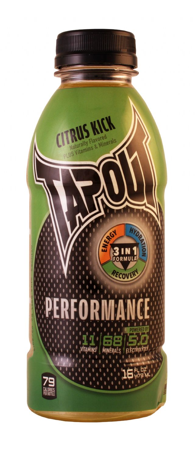 Tapout Performance: Tapout CitrusKick Front