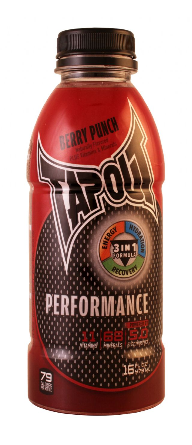 Tapout Performance: Tapout BerryPunch Front