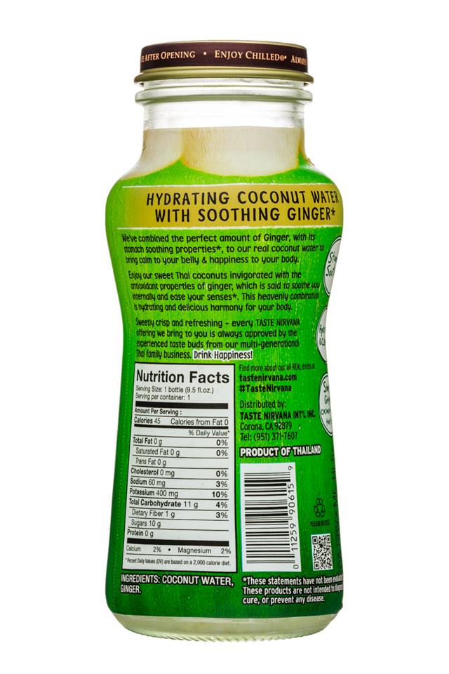 Taste Nirvana: TasteNirvana-10oz-CocoWater-Ginger-Facts