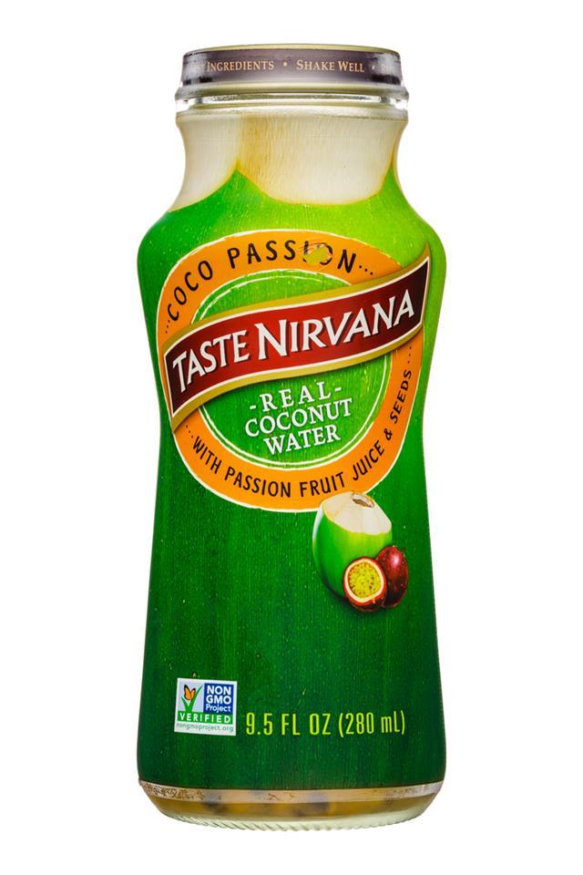 Taste Nirvana: TasteNirvana-10oz-CocoWater-Passion-Front