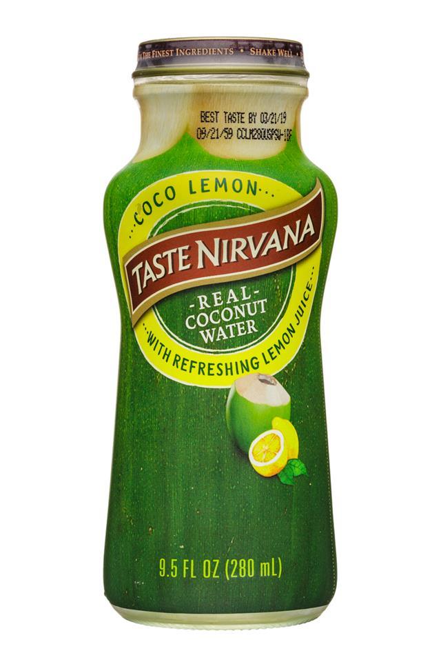 Taste Nirvana: TasteNirvana-10oz-CocoWater-Lemon-Front
