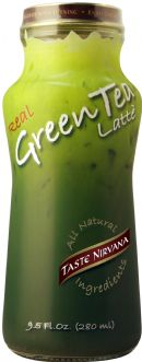 Taste Nirvana: 7  280ml Glass Bottle GÇô TN Green Tea (All Natural)