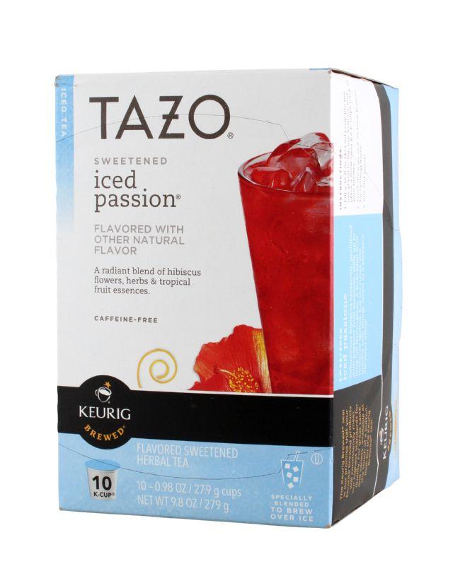 Tazo Tea: Tazo IcePassion Front