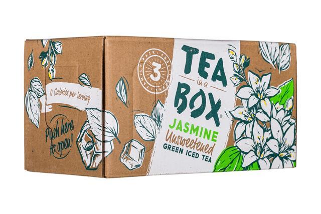 Tea in a Box: TeaInABox-FamilyPack-3Liter-Jasmine-Front