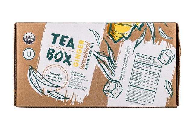 Tea in a Box: TeaInABox-FamilyPack-3Liter-Ginger-Facts