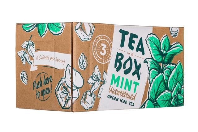 Tea in a Box: TeaInABox-FamilyPack-3Liter-Mint-Front