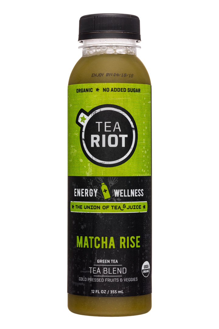 Tea Riot: TeaRiot-12oz-Tea-MatchaRise-Front