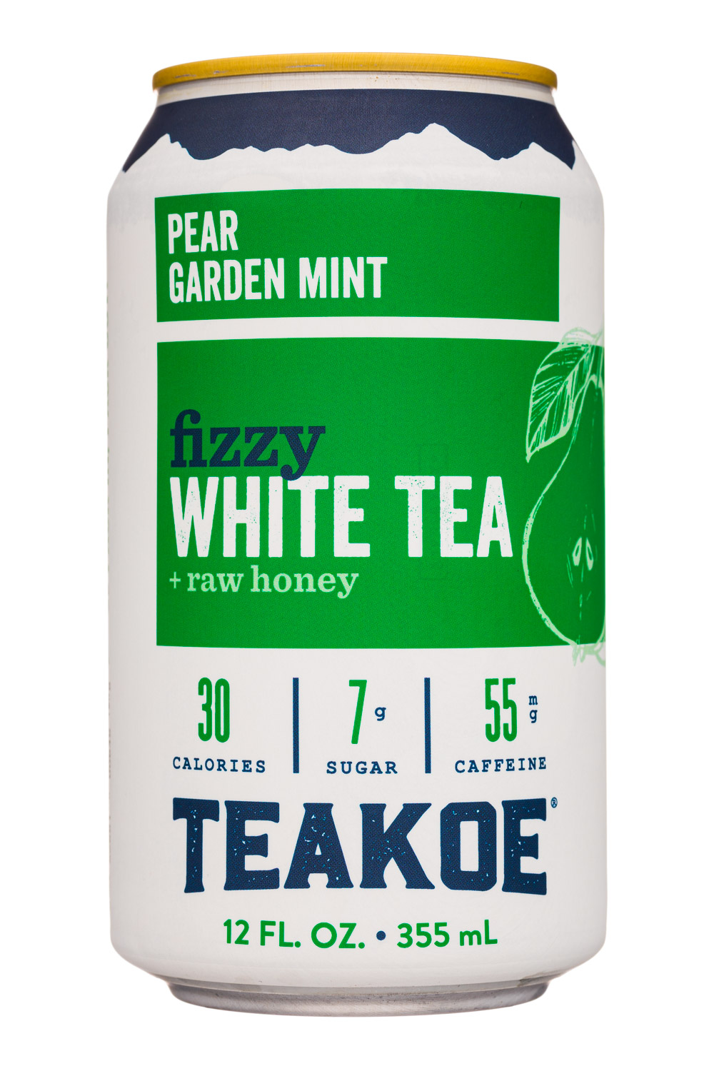 Pear Garden Mint - Fizzy White Tea