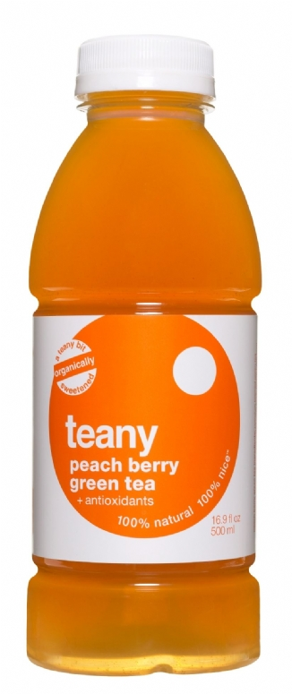 Teany: Peach Berry Green Tea