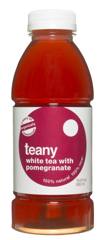 Teany: White Tea with Pomegranate