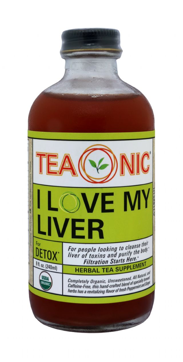 Teaonic Herbal Tea Tonics: TeaOnic Detox Front