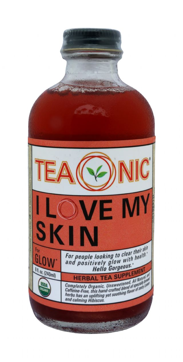 Teaonic Herbal Tea Tonics: TeaOnic Glow Front