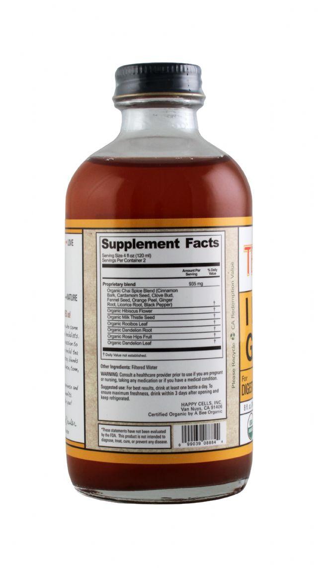 Teaonic Herbal Tea Tonics: TeaOnic Gut Facts