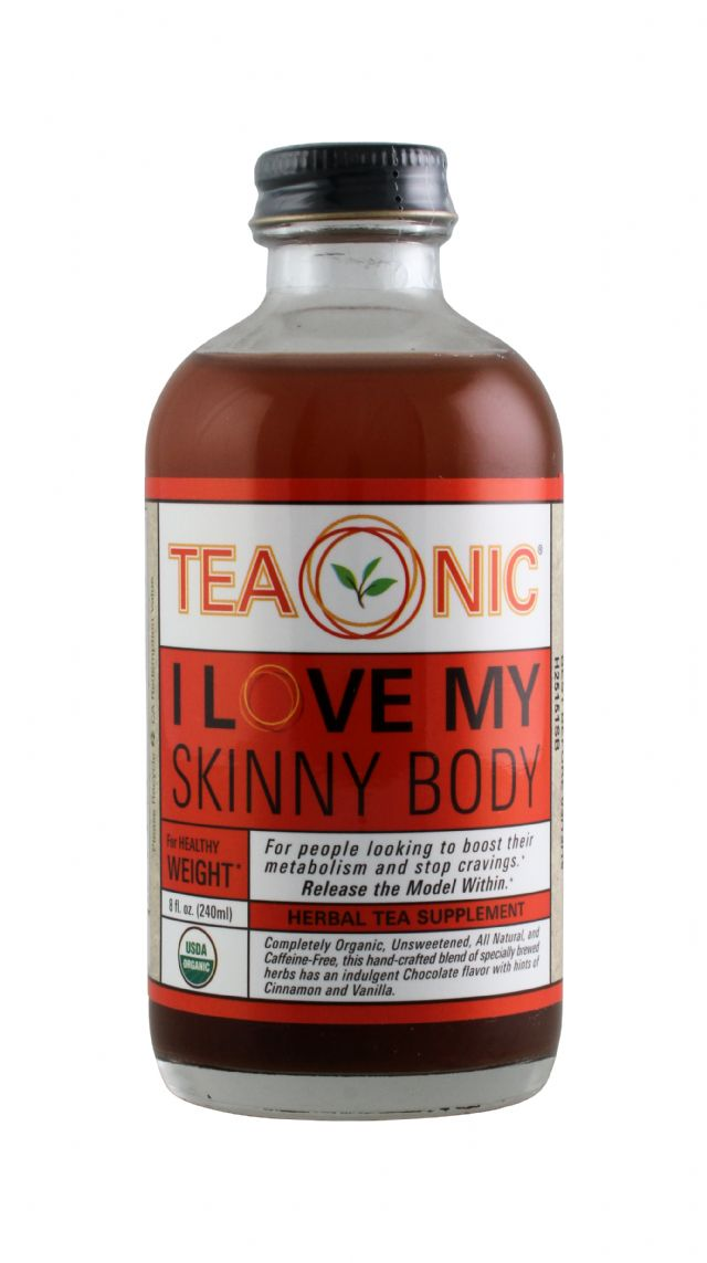 Teaonic Herbal Tea Tonics: TeaOnic Body Front